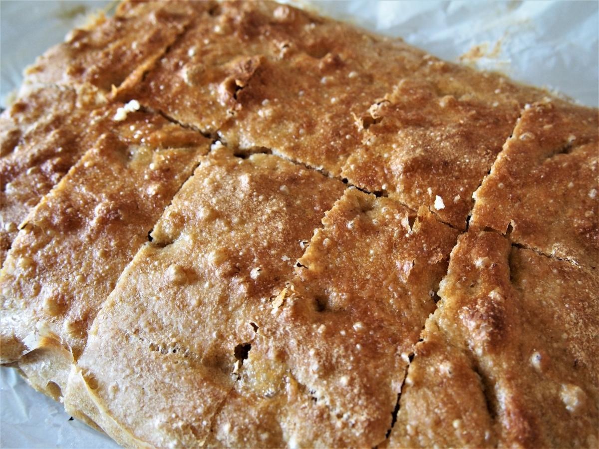 10分割にカットしたこだま酵母のパン