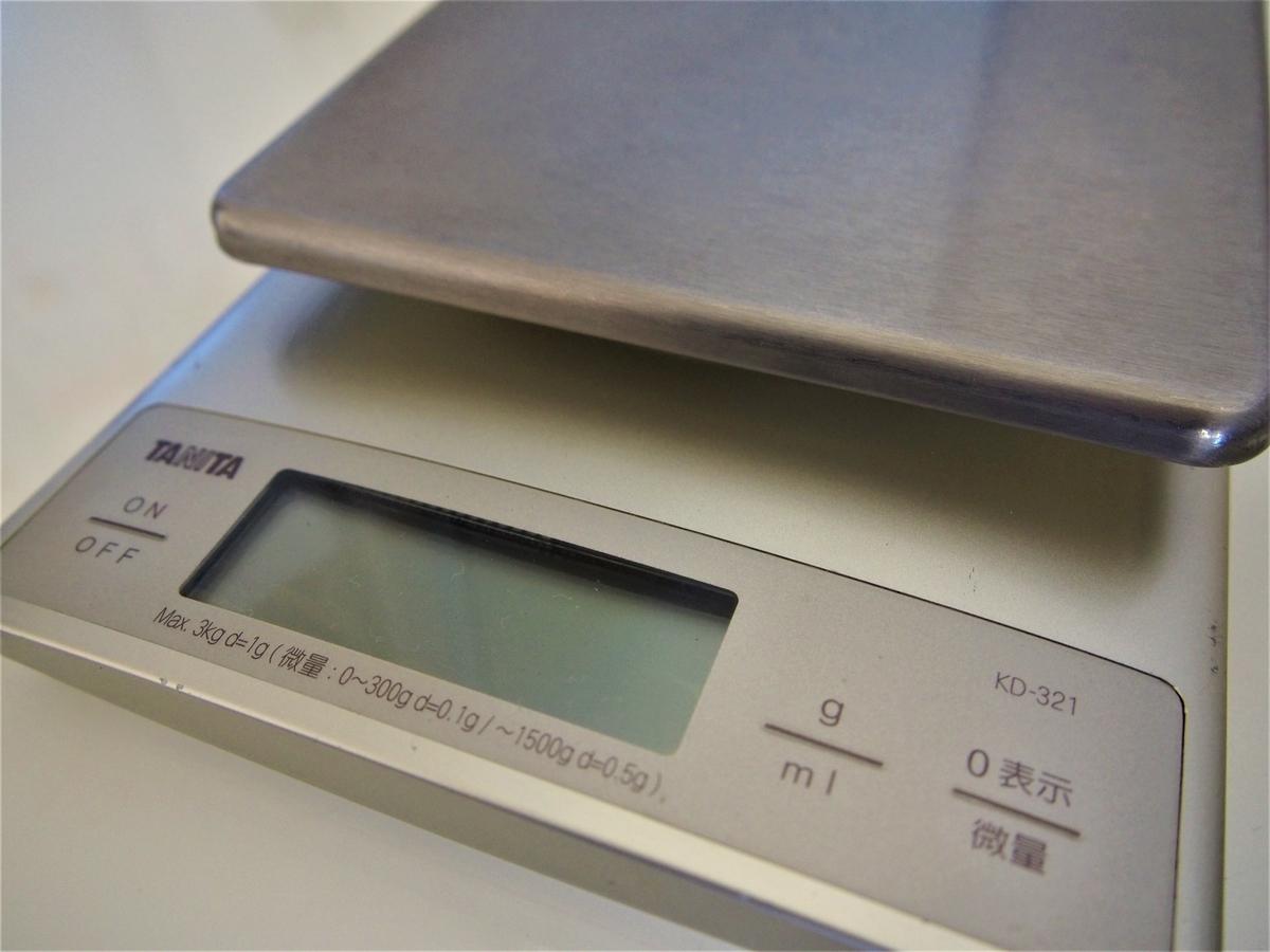タニタのはかりKD-321