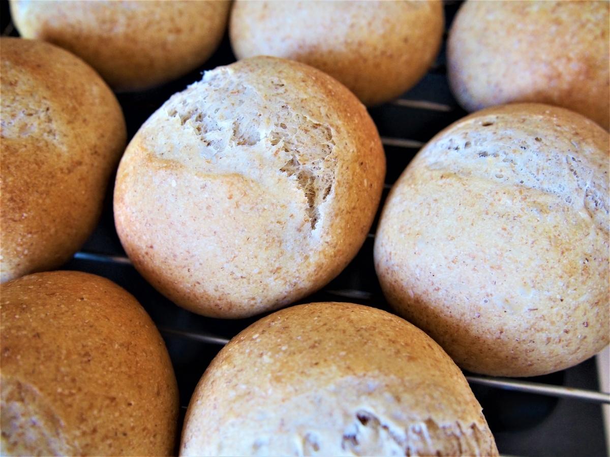 ライ麦を15%配合したパン