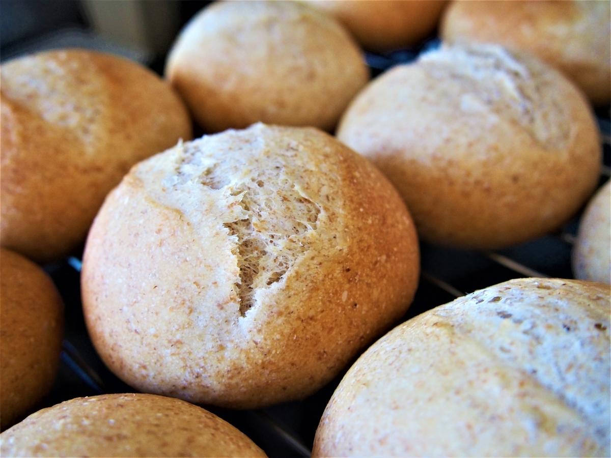 こだま酵母で焼いたライ麦パン