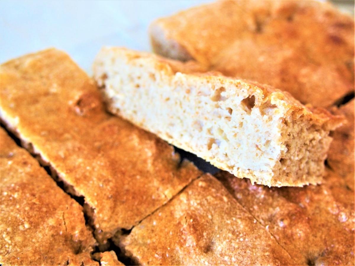 ライ麦のこねないパン