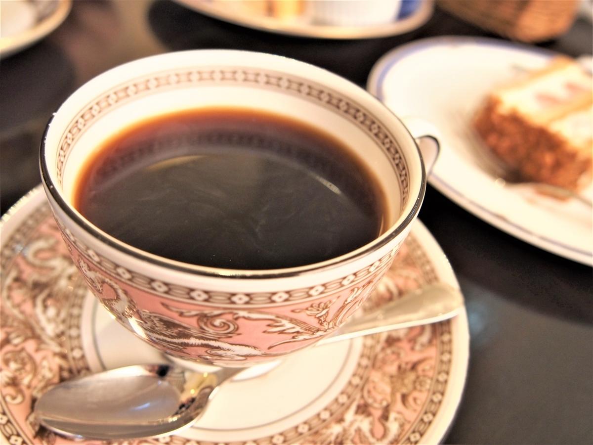 ウェッジウッドで提供のカフェラミルのラミルブレンド