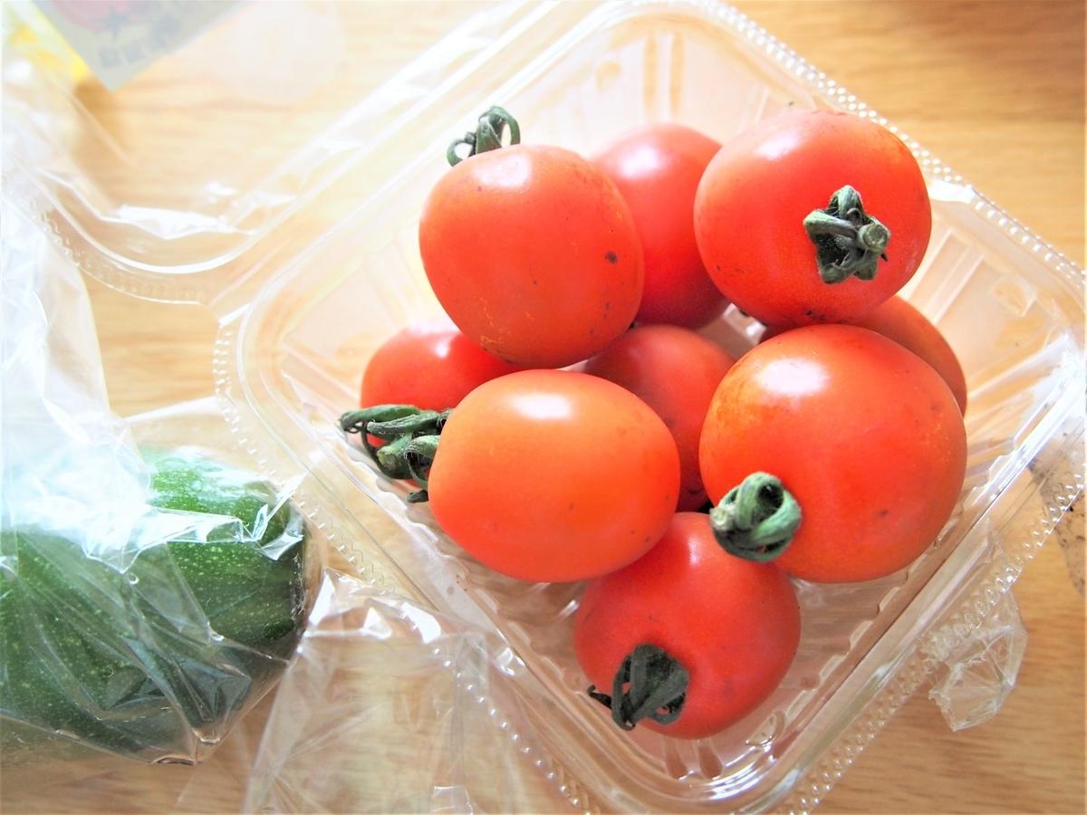 減農薬栽培のミニトマト