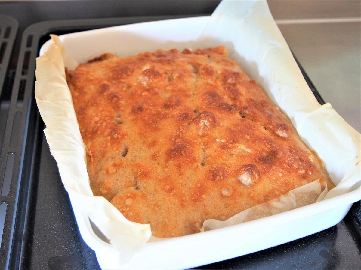 国産小麦E65で焼いたパン
