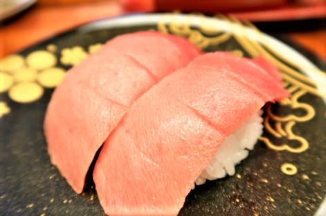 石川県金沢市で食べた中とろ