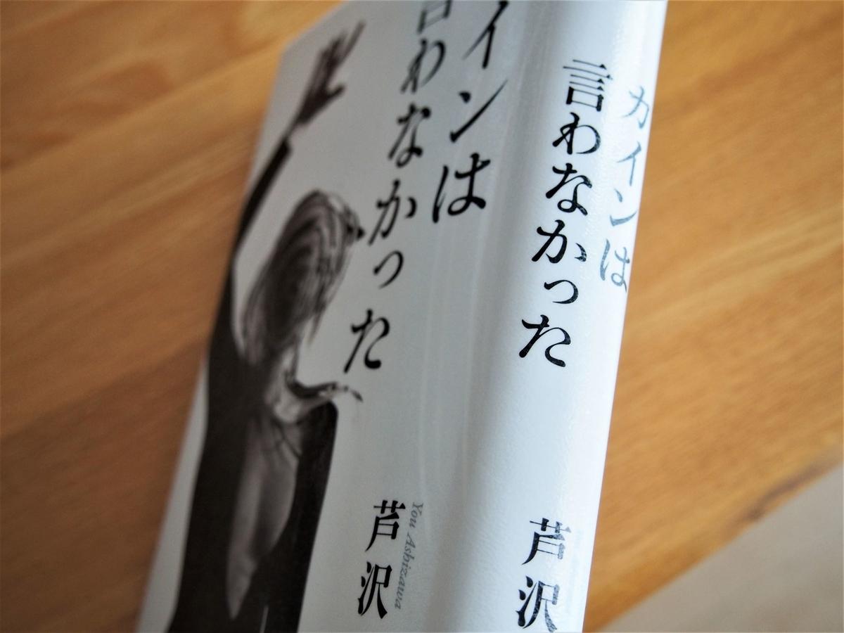 芦沢央「カインは言わなかった」の背表紙