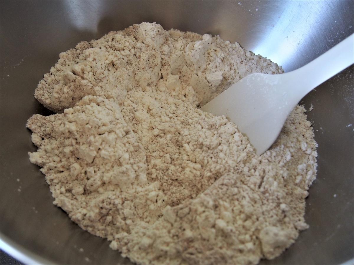 ライ麦パンの原材料・粉類