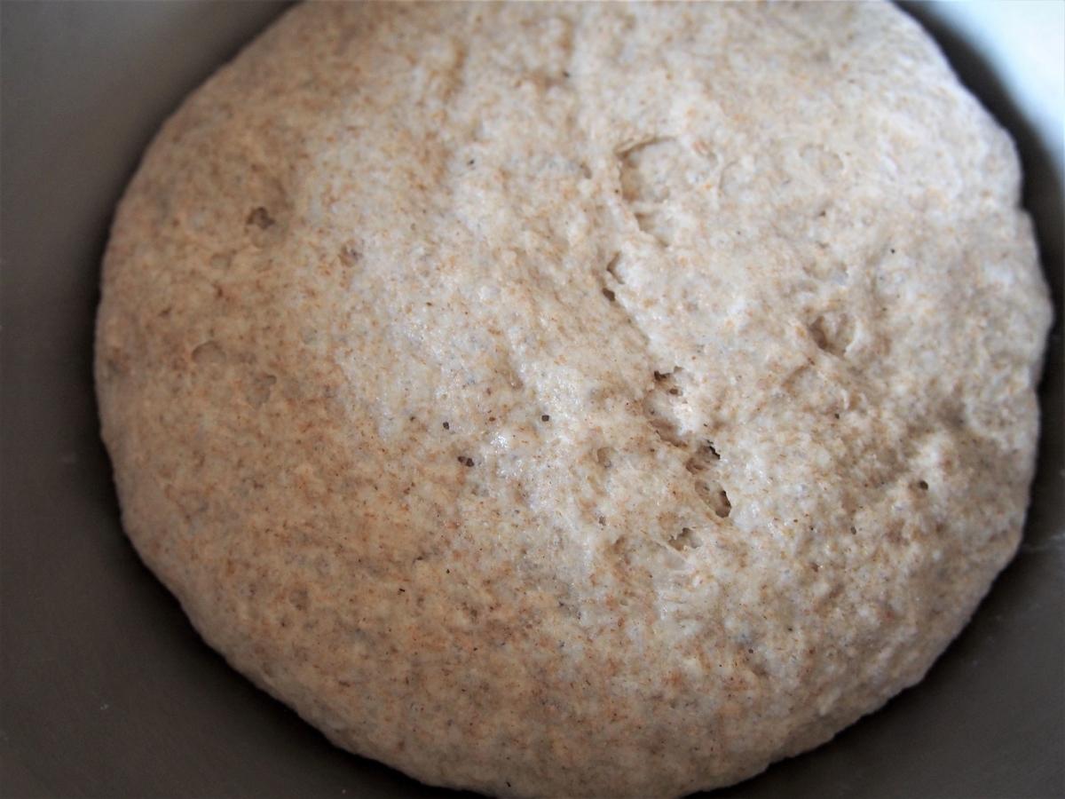 発酵後のパン生地