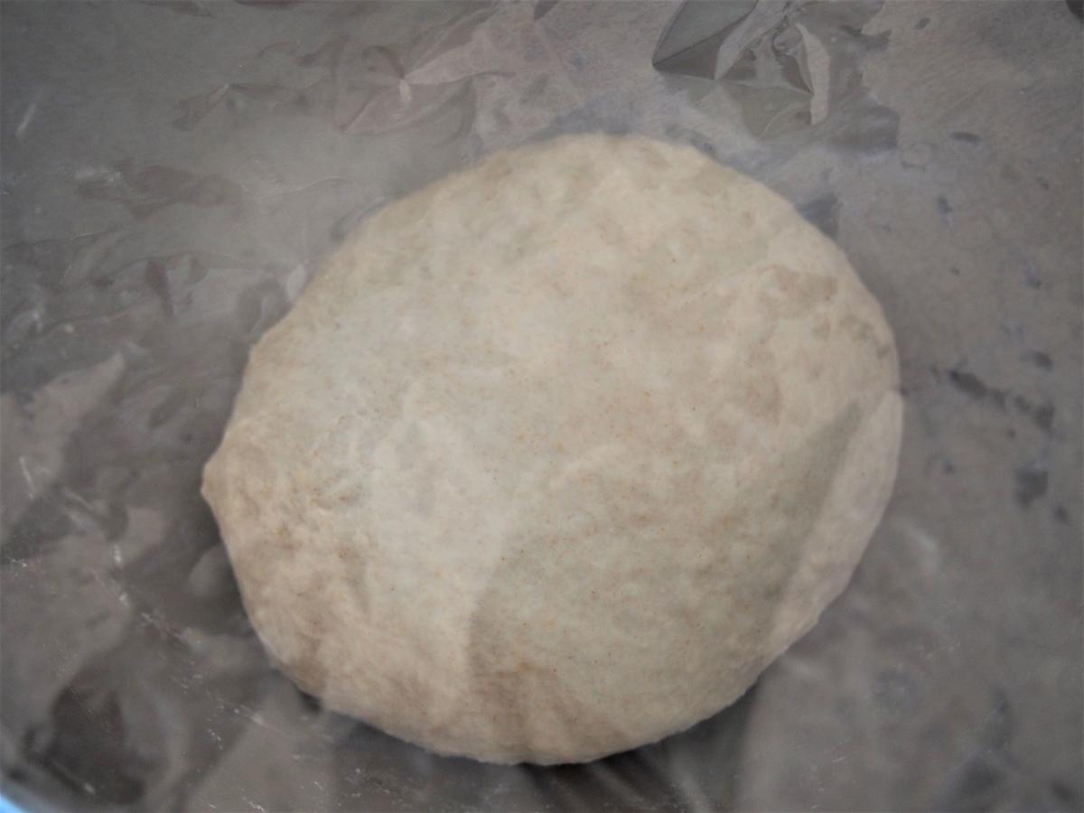 一次発酵させるパン生地
