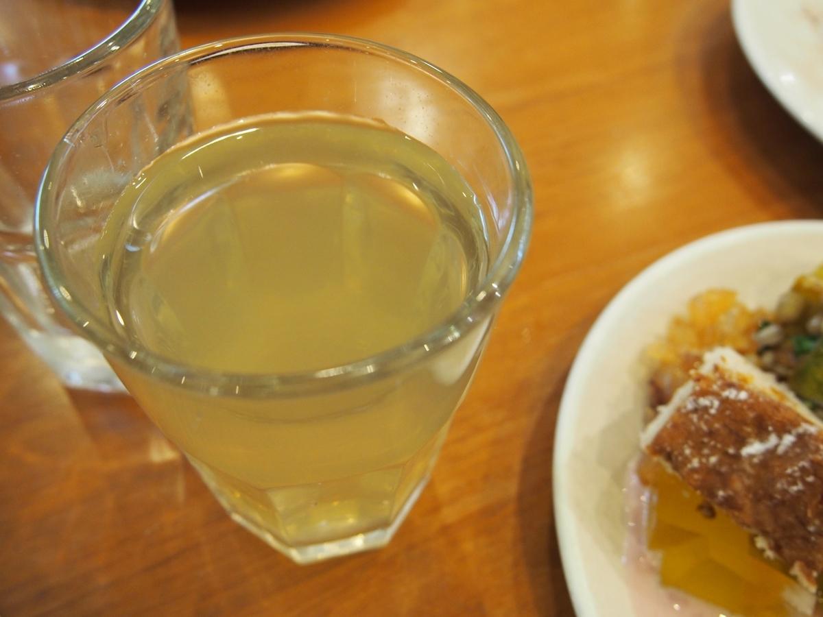 トロピカルな味のお茶