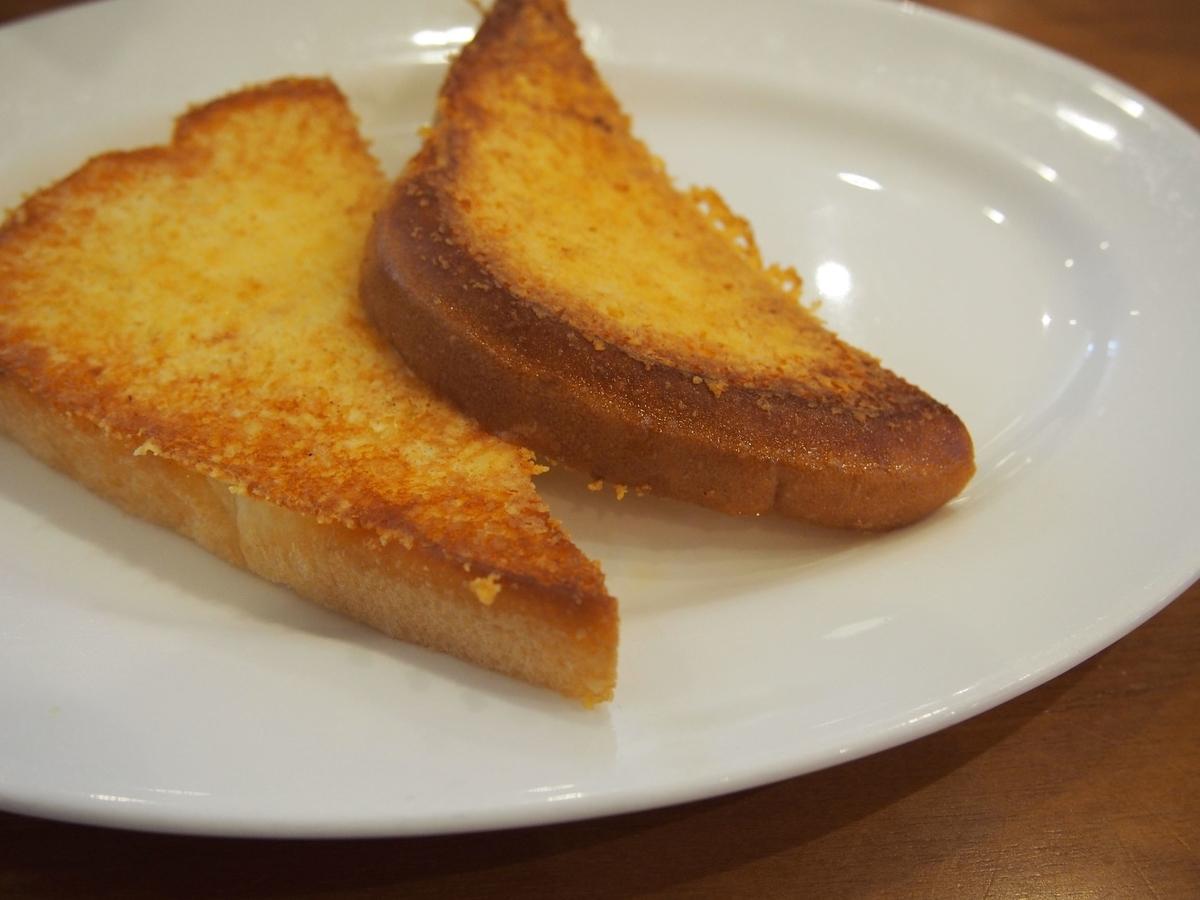 シズラーのチーズトースト