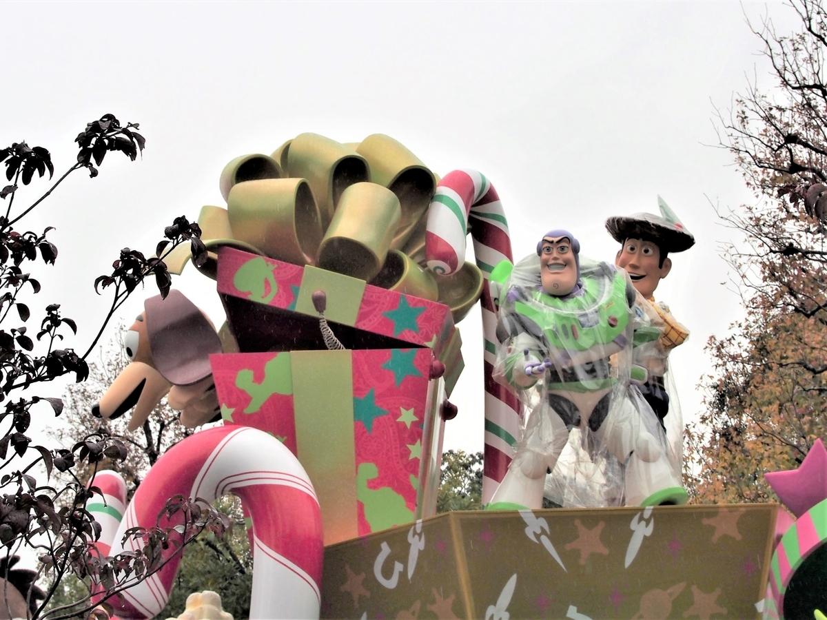 ディズニーランド・雨の日パレード