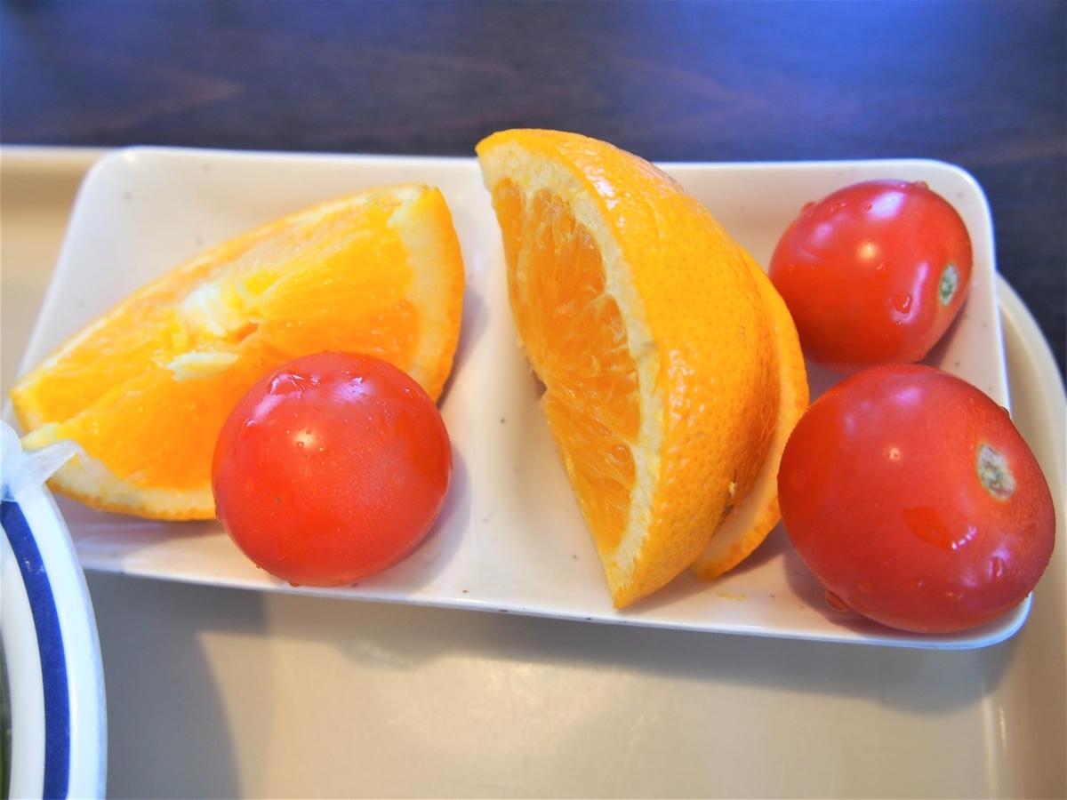 ステーキガストのフルーツ