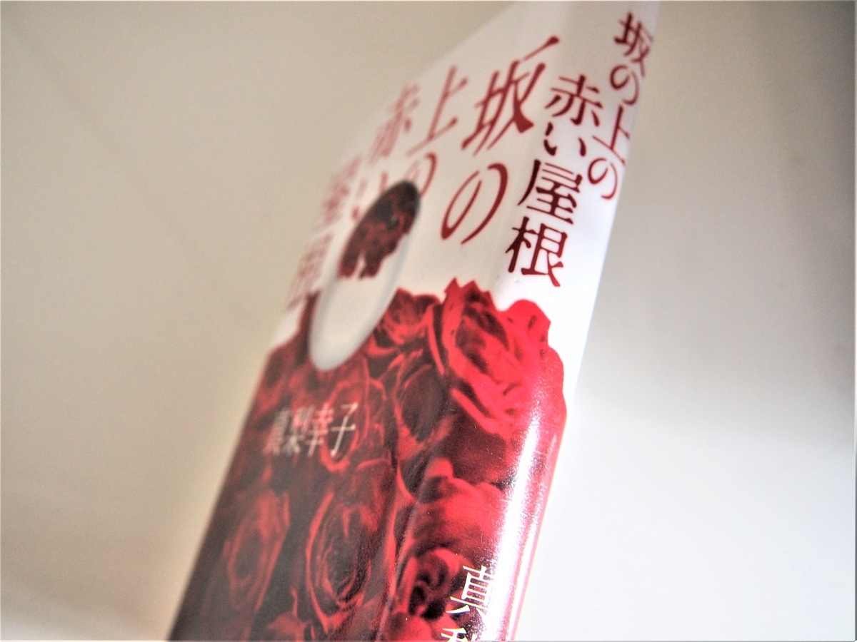 真梨幸子「坂の上の赤い屋根」背表紙画像