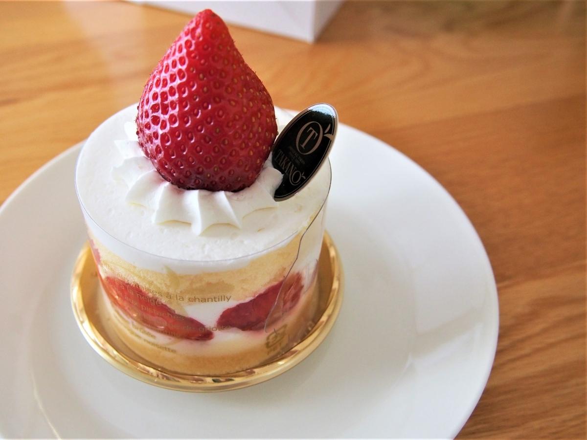タカノの「いちごのショートケーキ」