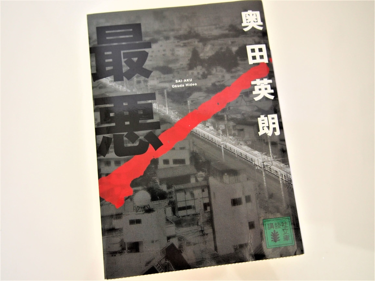 奥田英朗の犯罪小説「最悪」の表紙画像・文庫版