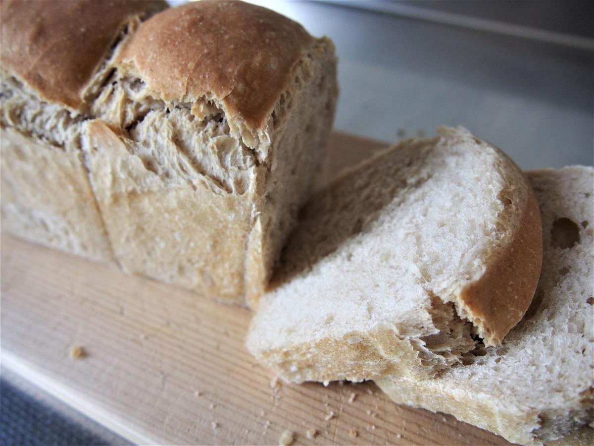 ライ麦とココナッツオイルの手ごねパン