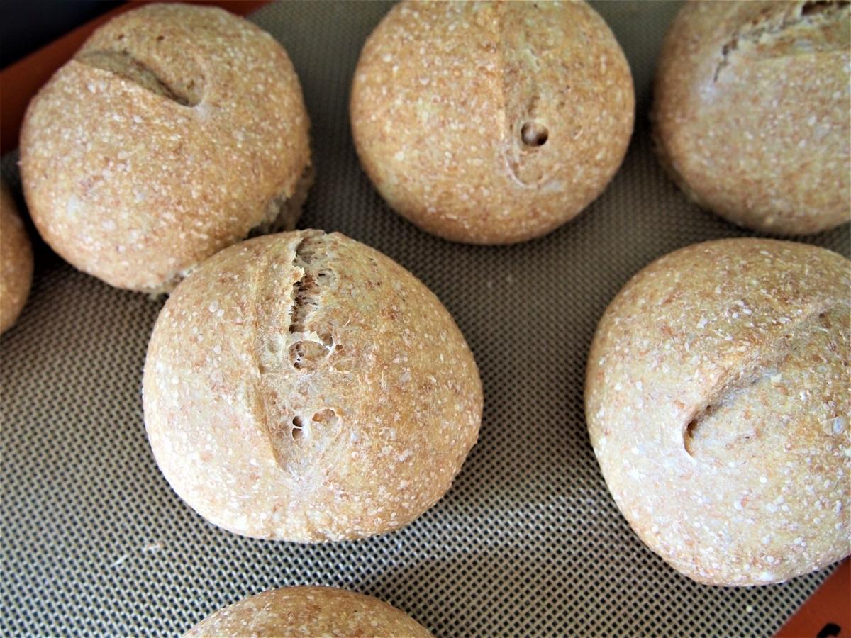 とかち野酵母・オーバーナイト製法のまるパン