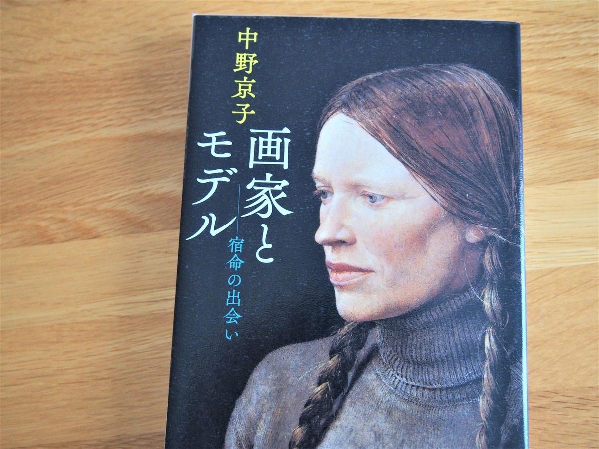 中野京子「画家とモデル」の表紙