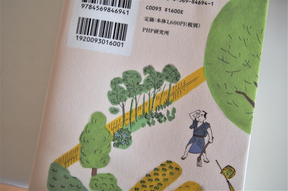 宮部みゆき・時代小説「きたきた捕物帖」の裏表紙