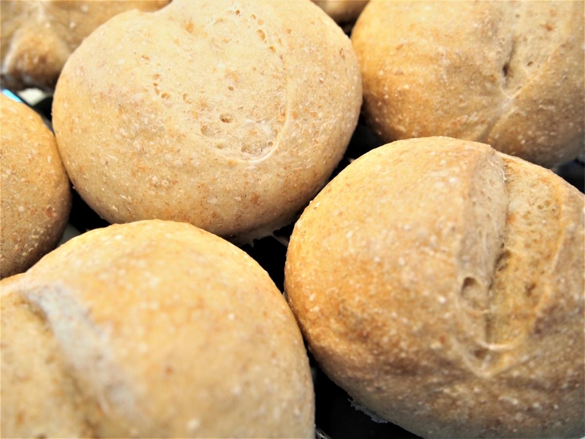 豆乳入りの手ごねパン