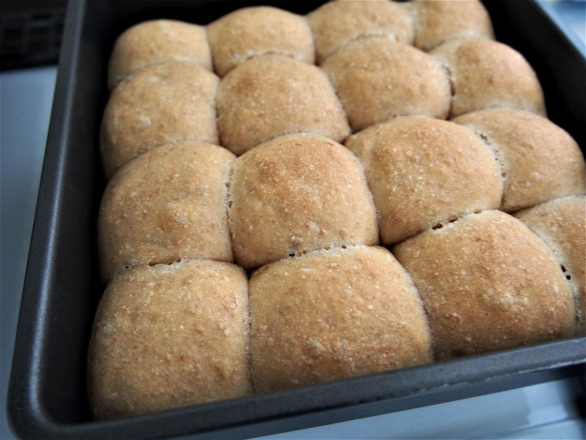 きなこ&豆乳ヨーグルトのちぎりパン