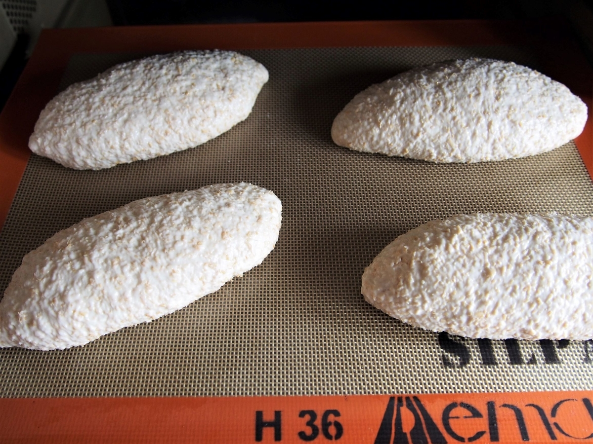 クッペ型に形成したパン生地