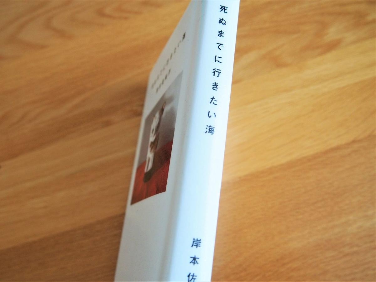 岸本佐知子著「死ぬまでに行きたい海」の背表紙