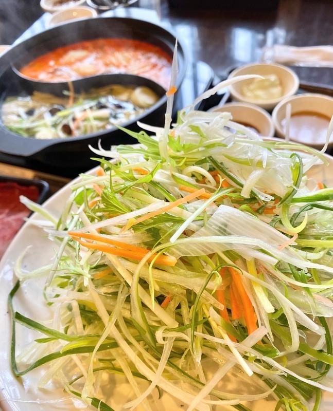 しゃぶ葉 しゃぶしゃぶ ブログ 香味野菜
