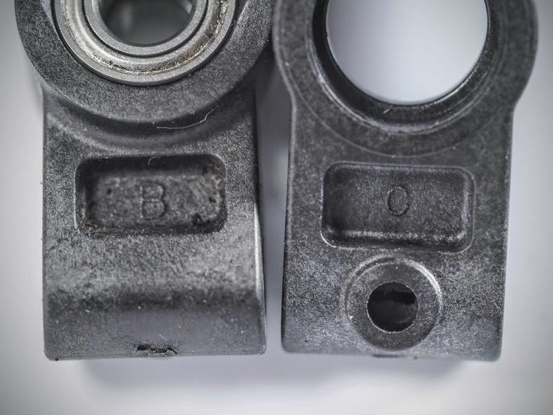 タミヤ TA07 TRF420 オプション