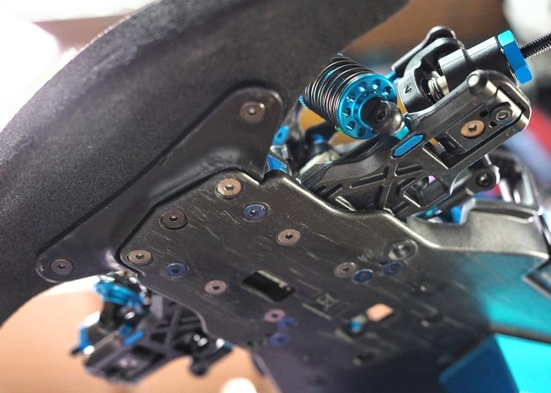 タミヤ TRF420 TA07 サスマウント 組み合わせ