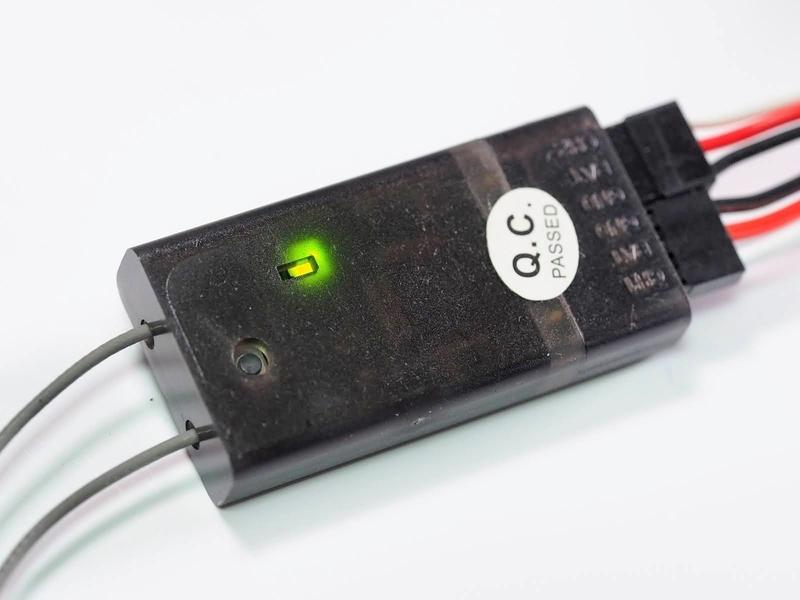 R4SF フタバ 互換 受信機 ペアリング