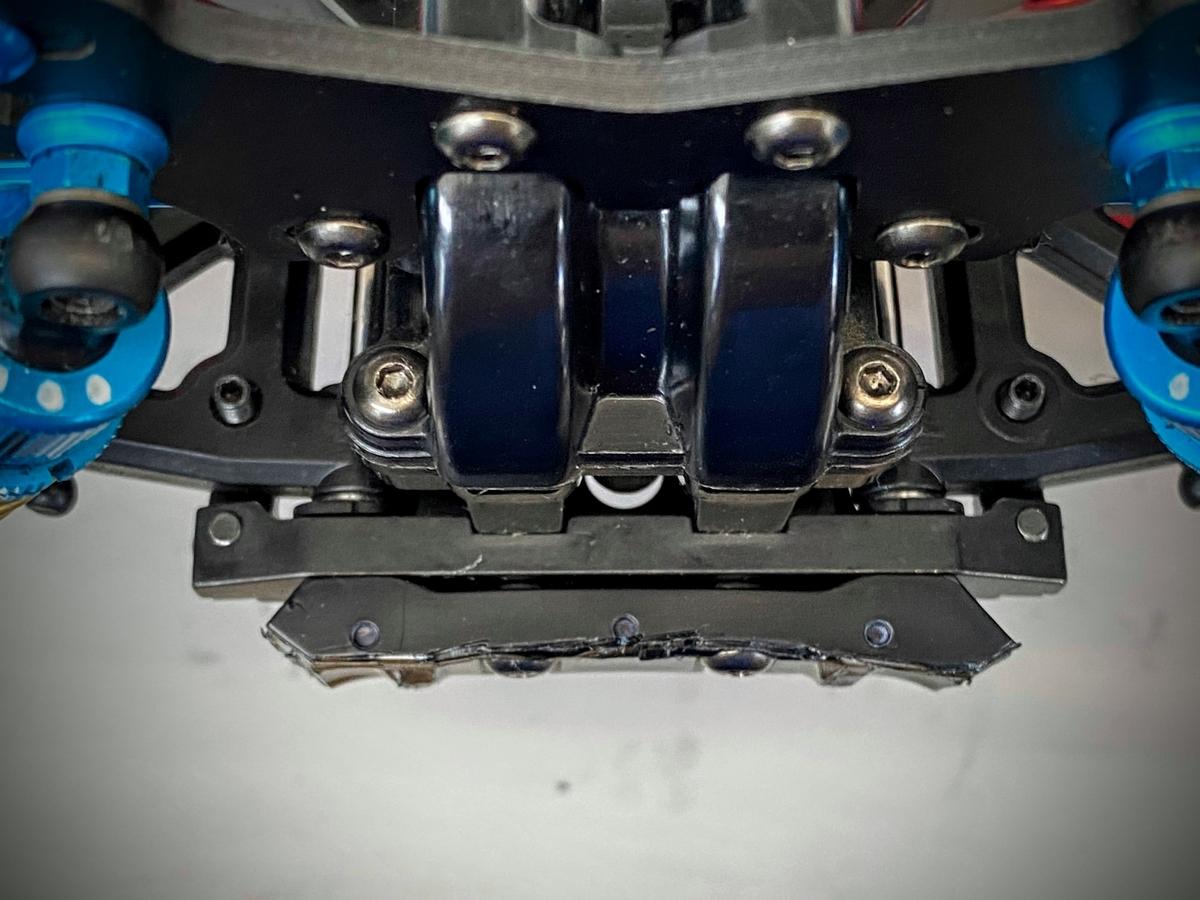 タミヤ スチールサスマウント TT02s バンパー