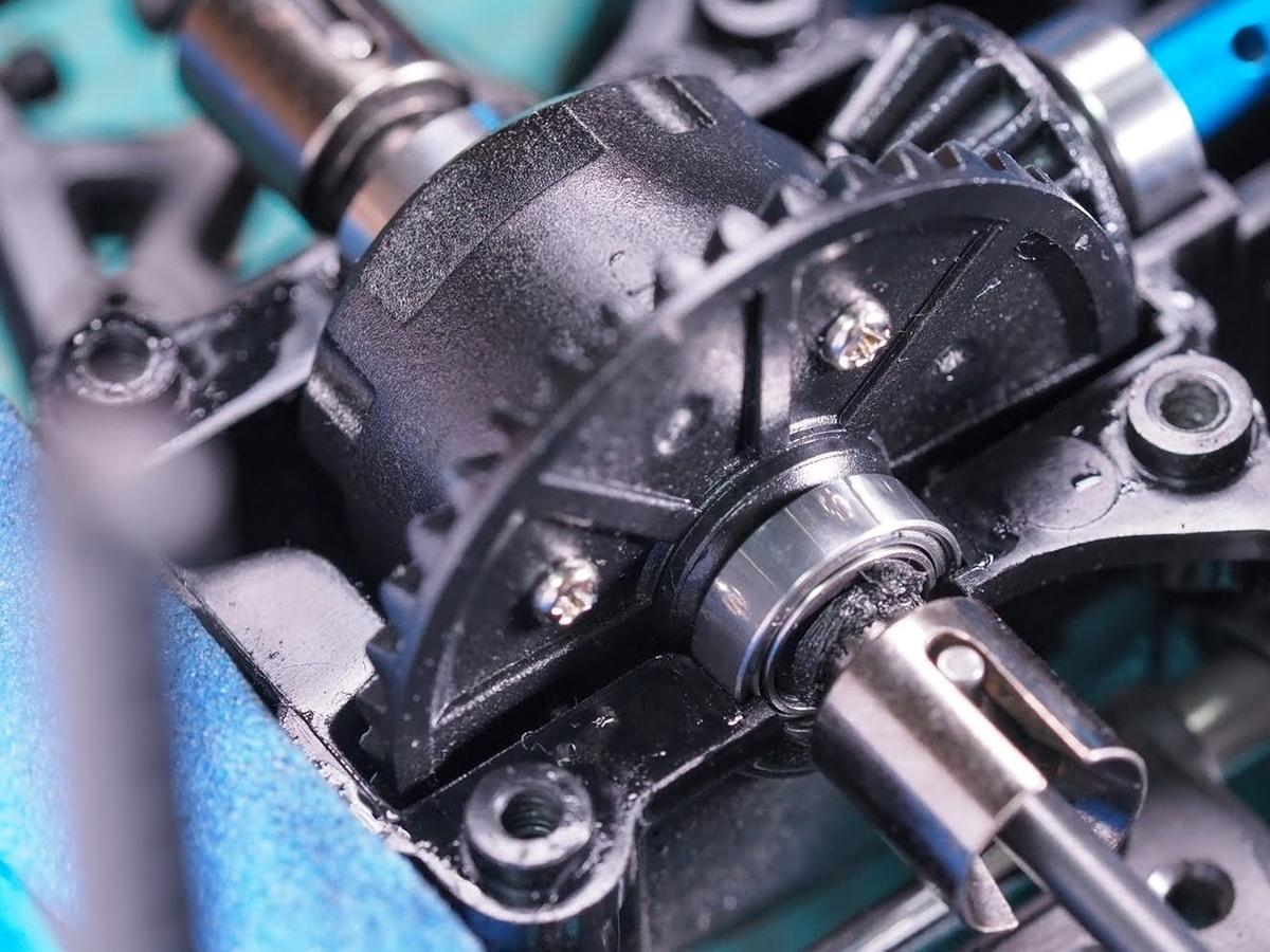 タミヤ TT02 デフギヤ デフオイル