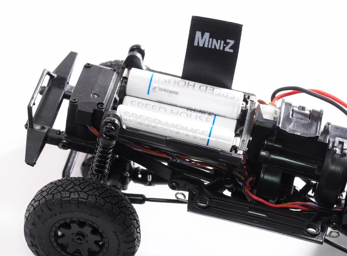 ミニッツ4x4クローラー