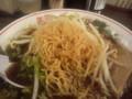 黒い醤油ラーメン/縮れ麺/長野市