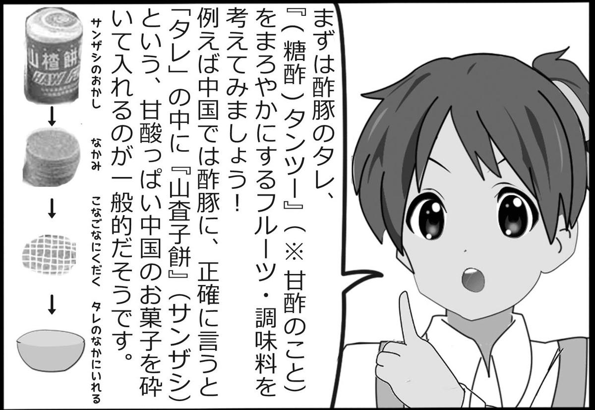 「けいおん!」まんが『なぜ【酢豚にパイナップル】はダメなのか!?』
