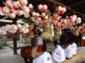 京都新聞写真コンテスト 五穀豊穣餅花祭り