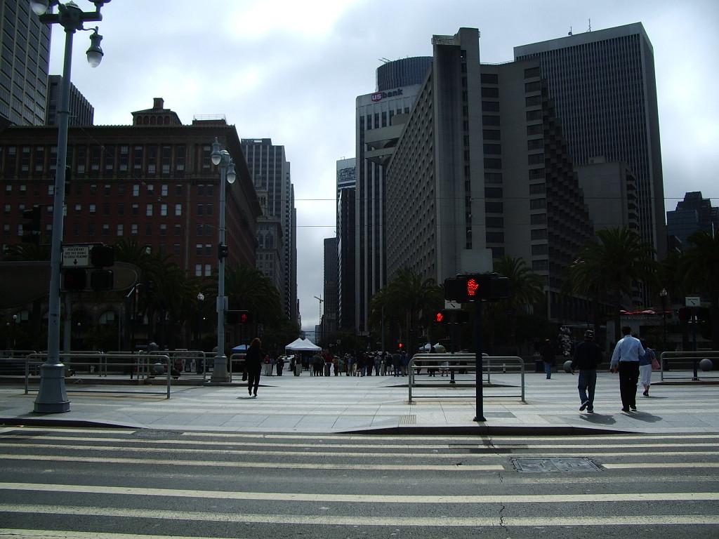 都会の町並み 個別「都会の町並み」の写真、画像 - サンフランシスコ勝手気まま一人旅2006 ユ
