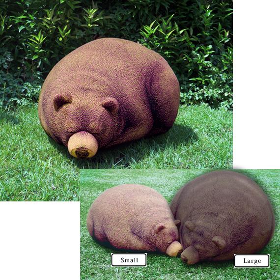 クマのリアルクッションのSLサイズ