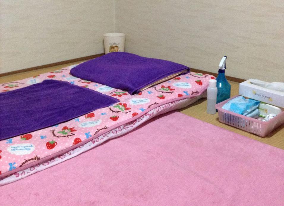 飛田新地のプレイ部屋