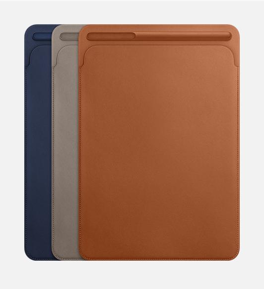 Apple Pencil持ち運び問題がついに解決。Apple純正「iPad Pro用レザースリーブ」「Apple Pencilケース」
