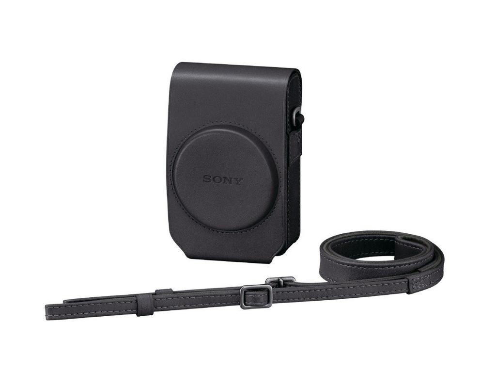【レビュー】SONY純正RX100レザーケース「デジタルカメラケース ソフトキャリングケース LCS-RXG」