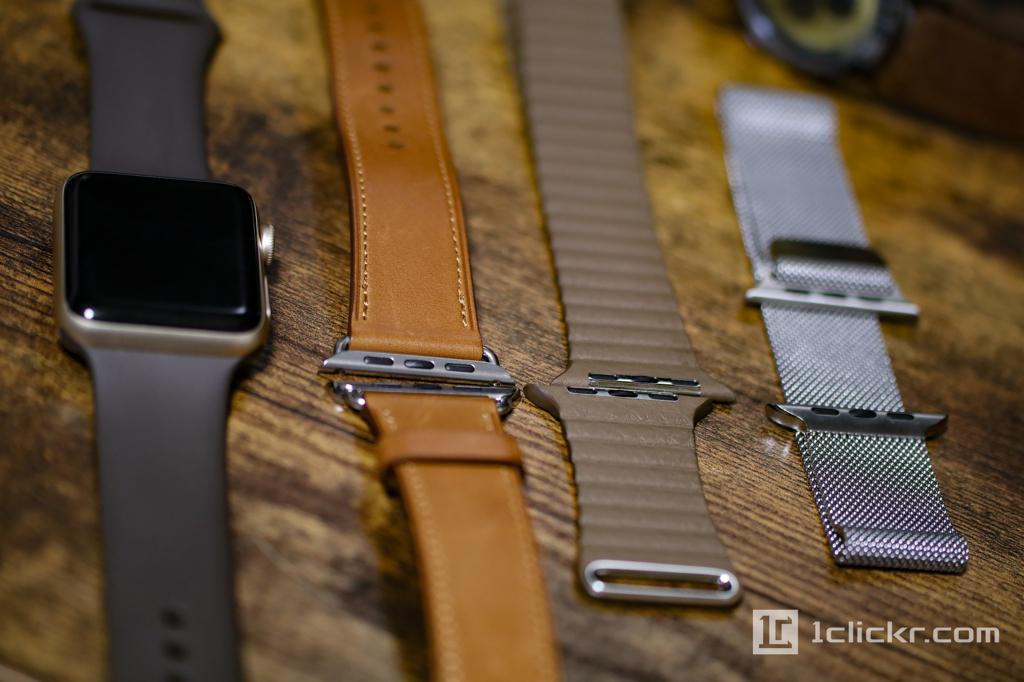 Apple Watch Series2 ゴールドアルミニウムと使っているバンド4本の使用感