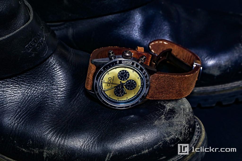 【レビュー】故障中という名の腕時計「OUT OF ORDER」ヴィンテージ加工のクロノグラフに惚れた