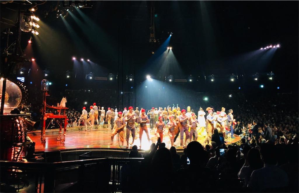 衝動のままにシルク・ドゥ・ソレイユのサーカスを観た話の画像