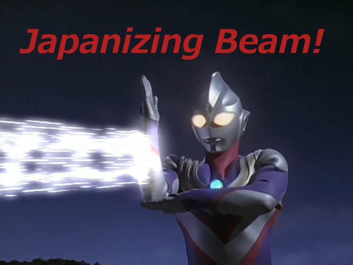 Japanizing Beam!
