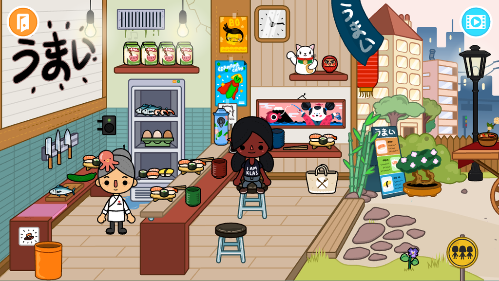 トッカライフの寿司の店