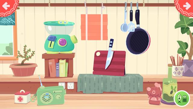 トッカキッチンすしの調理器具