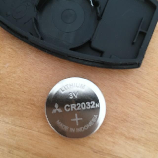 日産セレナのインテリジェントキー(C27)の電池